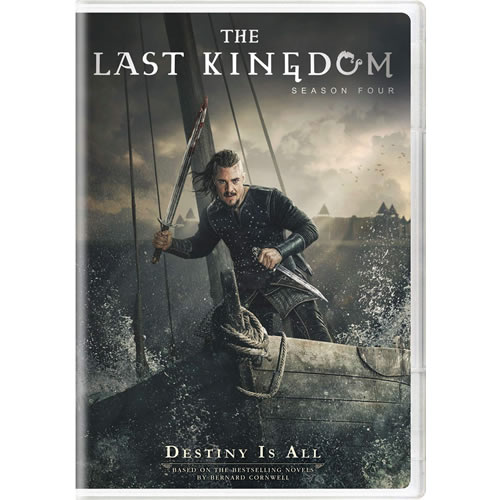 The Last Kingdom Season 4 DVD