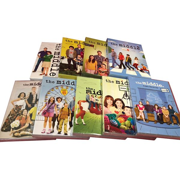 The Middle Complete Series 1-9 (27-Disc DVD)