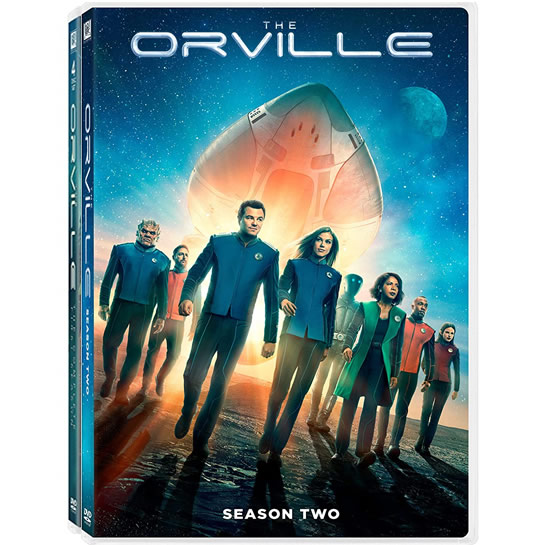 The Orville Complete Series 1-2 (8-Disc DVD)