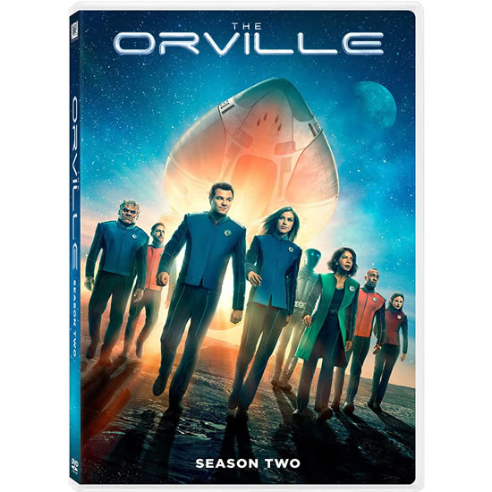 The Orville - The Complete Season 2 (4-Disc DVD)
