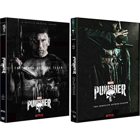 The Punisher Complete Series 1-2 (6-Disc DVD)