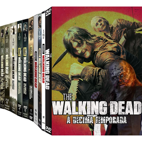 The Walking Dead Complete Series 1-10 (46-Disc DVD)