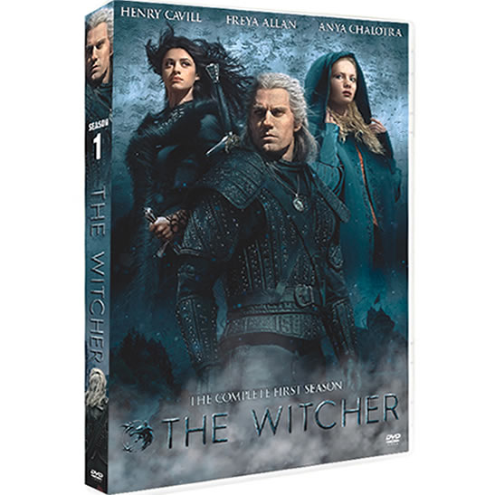 The Witcher - The Complete Season 1 (3-Disc DVD)