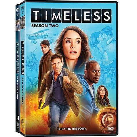 Timeless Complete Series 1-2 (7-Disc DVD)