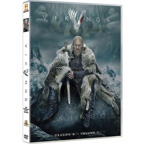 Vikings - The Complete Season 6 Part 1 (3-Disc DVD)