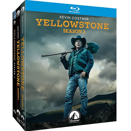 Yellowstone Complete Season 1-3 Blu-ray Region Free On Sale