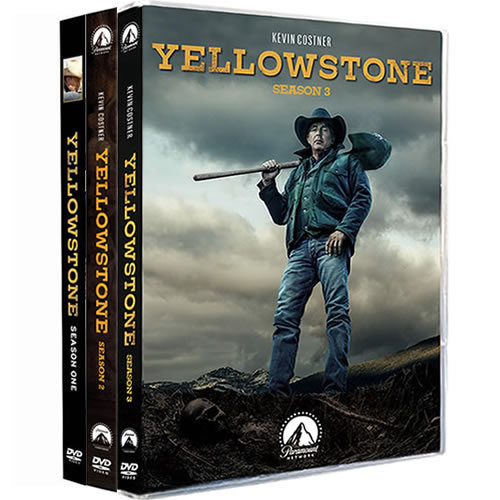 Yellowstone Complete Series 1-3 (11-Disc DVD)