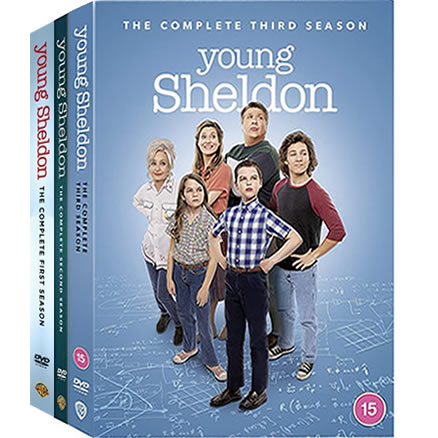 Young Sheldon Complete Series 1-3 (7-Disc DVD)
