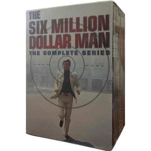 The Six Million Dollar Man Complete Series DVD Box Set