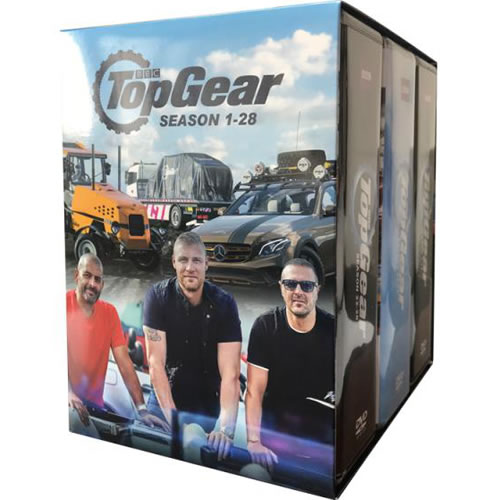 Top Gear Complete Series 1-28 DVD