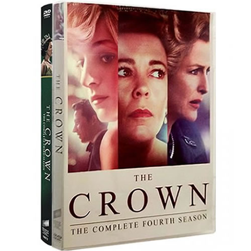 The Crown Complete Series 3-4 DVD