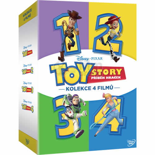 Toy Story Complete Series 1-4 DVD