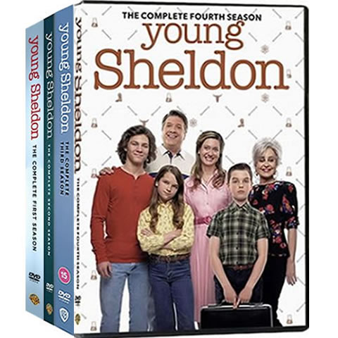 Young Sheldon Complete Series 1-4 DVD