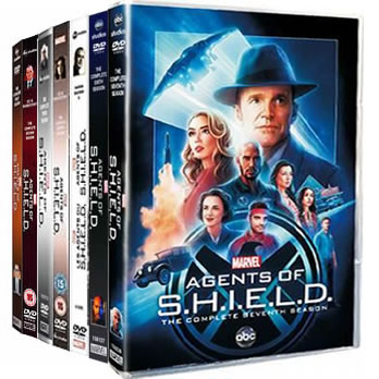 Agents of SHIELD Complete Series 1-7 1-7