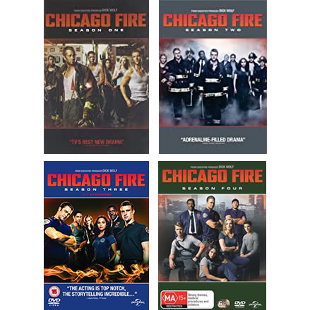 Chicago Fire Complete Series 1-4 1-4