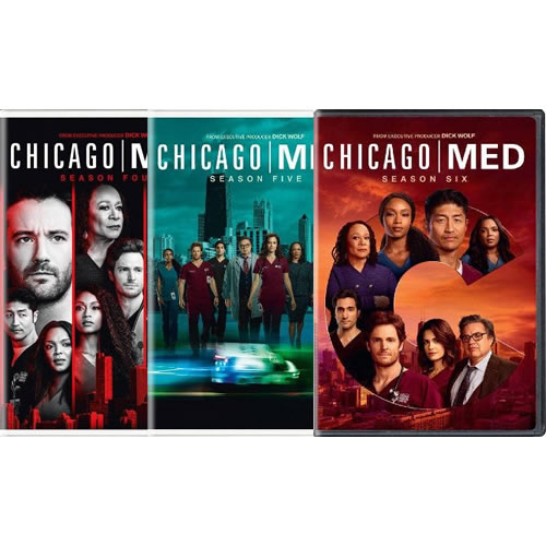 Chicago Med Complete Series 4-6 4-6