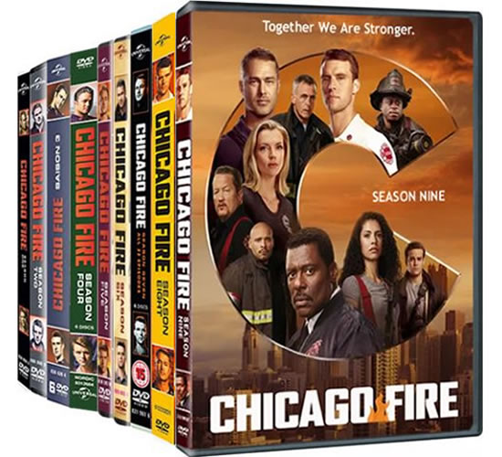 Chicago Fire Complete Series 1-9 1-9