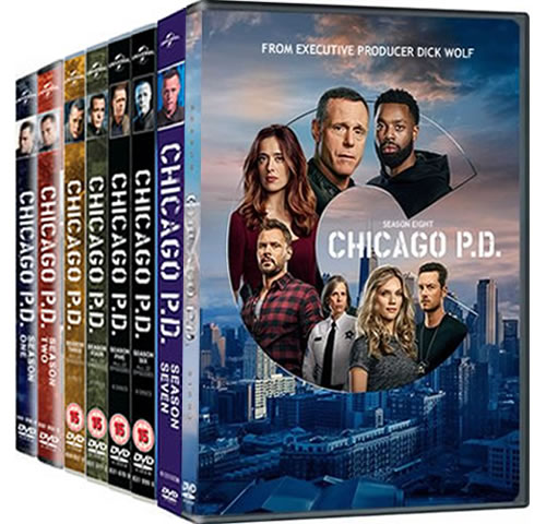Chicago PD Complete Series 1-8 1-8