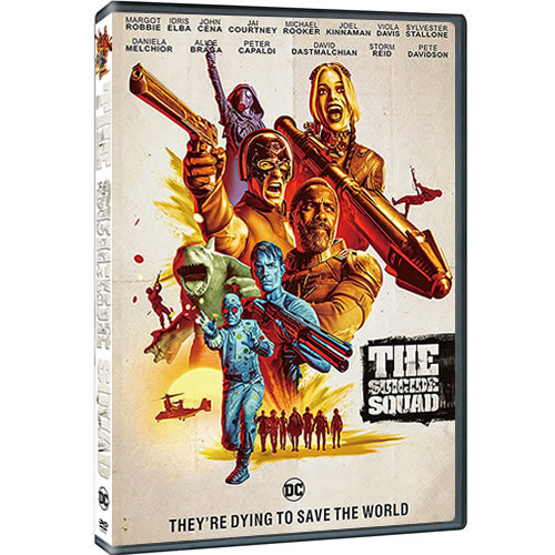 The Suicide Squad 2021 DVD