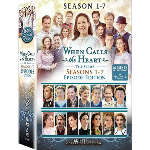 When Calls The Heart Complete Series 1-7 1-7