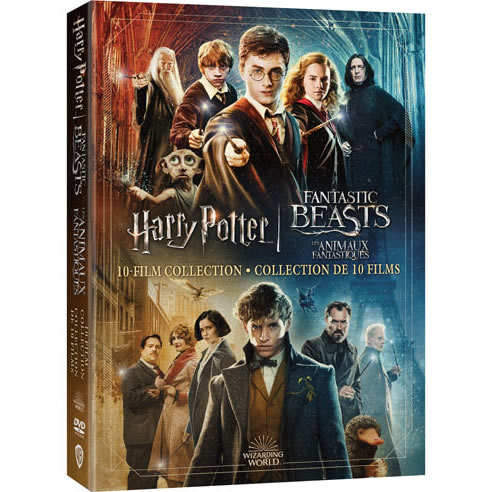 Wizarding World 10 Film Collection - Harry Potter & Fantastic Beasts DVD